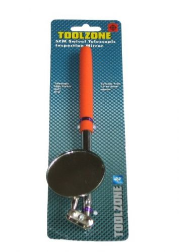 Toolzone Tools Telescopic Inspection Mirror - Round